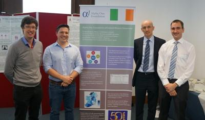 Speakers Dr. Gianpiero Cavalleri, Dr. David Bergin, Dr. Frank Doyle, and Dr. Tomás Carroll