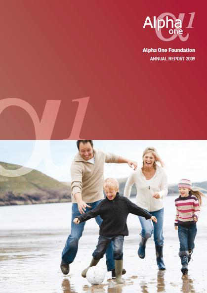 annual reportcover2009