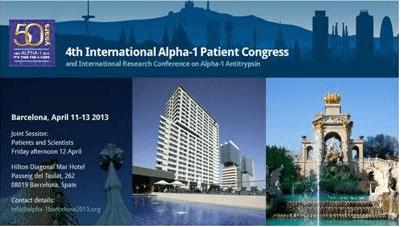 Fourth International Alpha-1 Congress