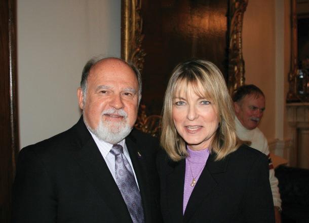 John wife Diane Chopin Alpha1 Recital Dublin Nov2010